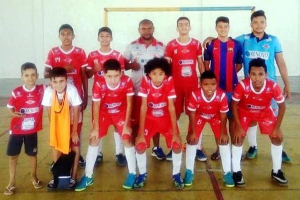 7d541adcb8 Tiradentes x Baré iniciam hoje a decisão do Estadual Sub 14 de Futsal -  Folha de Boa Vista